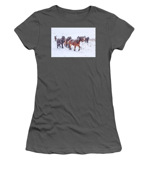 In The Storm 2 Women's T-Shirt (Athletic Fit)