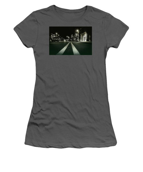 In The Streets Women's T-Shirt (Athletic Fit)