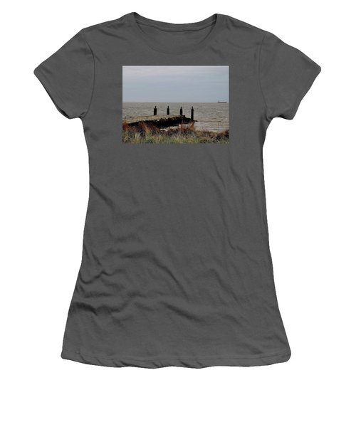 Incoming Freedom  Women's T-Shirt (Athletic Fit)