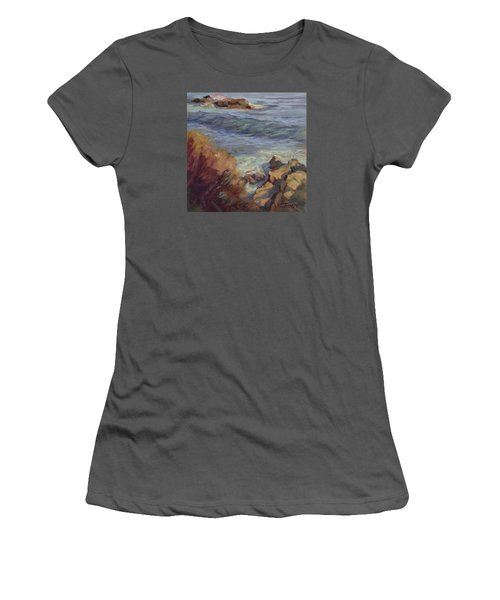 Incoming Wave Women's T-Shirt (Junior Cut) by Jane Thorpe
