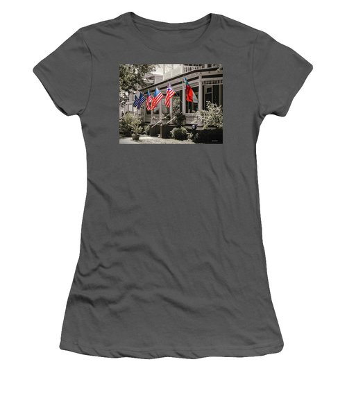 Independence Day Southport Style Women's T-Shirt (Athletic Fit)