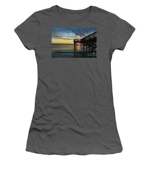 Indian Rocks Sunset Women's T-Shirt (Junior Cut) by Paul Mashburn