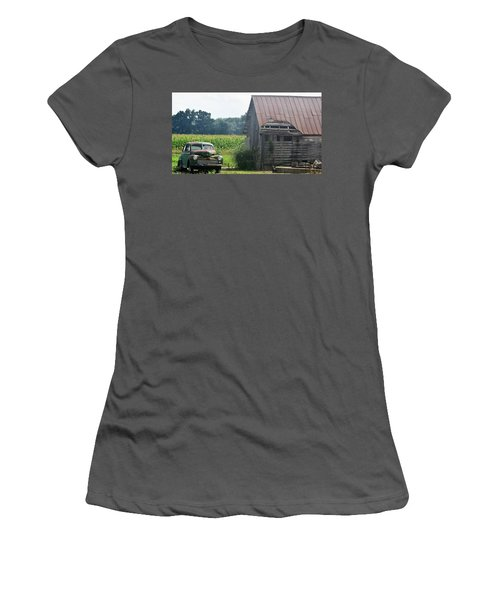 Indiana Back Road Common Denominator Women's T-Shirt (Athletic Fit)