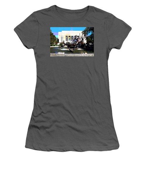 Indiana University Women's T-Shirt (Athletic Fit)
