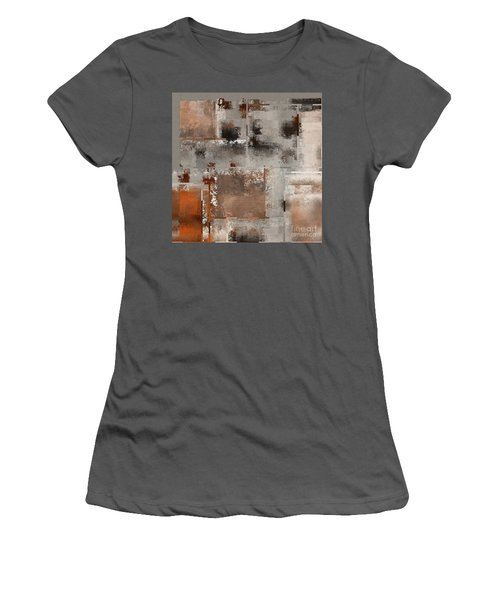 Industrial Abstract - 01t02 Women's T-Shirt (Athletic Fit)