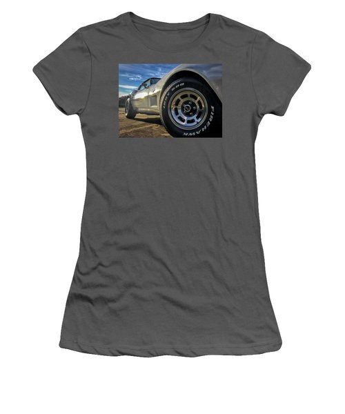 Indy 500 Color Women's T-Shirt (Athletic Fit)