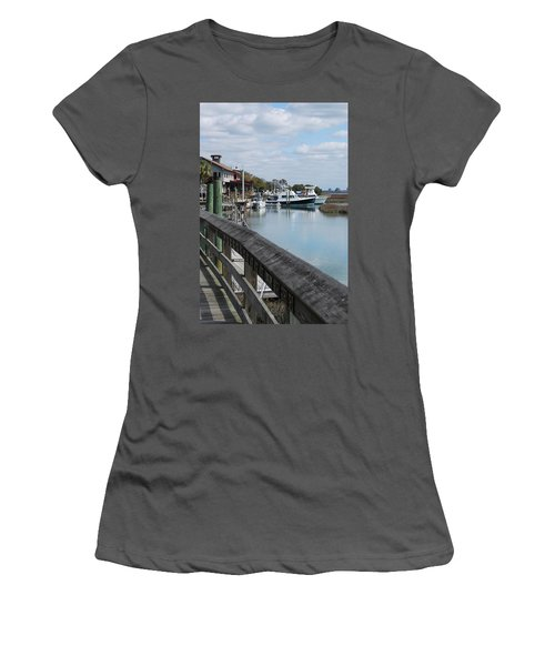 Inlet Fishing Fleet Women's T-Shirt (Athletic Fit)