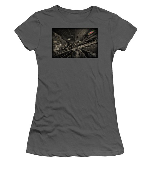 Inside Fox Theater Women's T-Shirt (Athletic Fit)