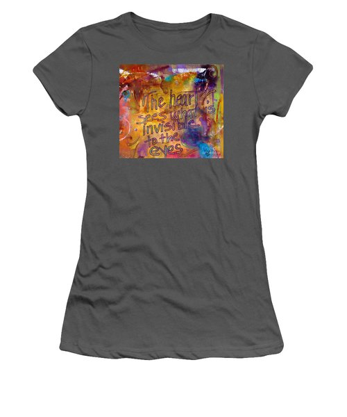 Inside Out Women's T-Shirt (Athletic Fit)