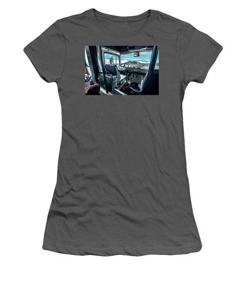 Inside The Etna Tour Unimog Women's T-Shirt (Athletic Fit)
