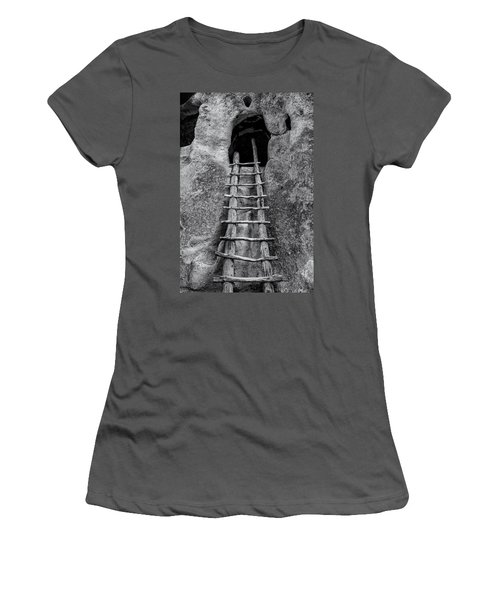Into The Alcove Women's T-Shirt (Junior Cut) by Gary Lengyel