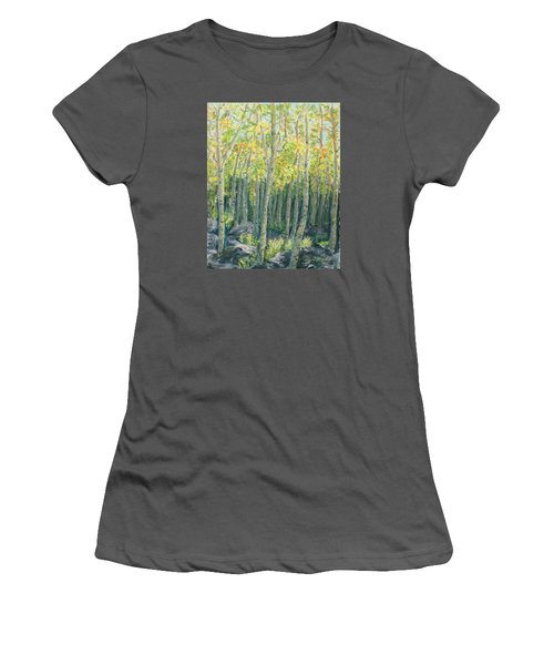 Into The Aspens Women's T-Shirt (Athletic Fit)