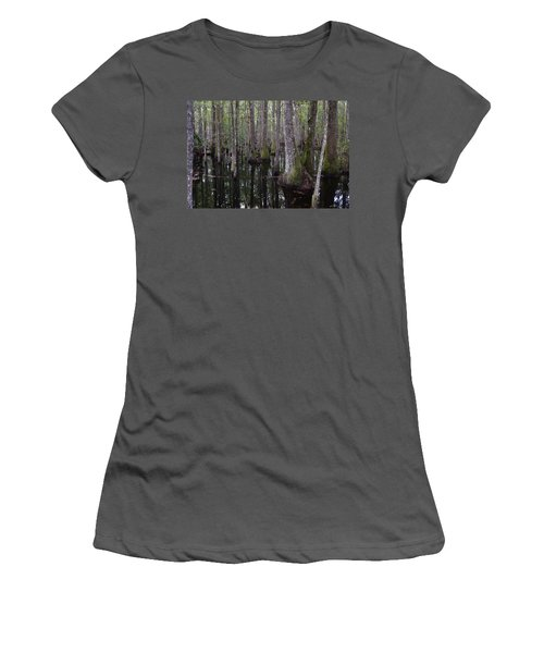 Into The Cypress Swamp Women's T-Shirt (Athletic Fit)