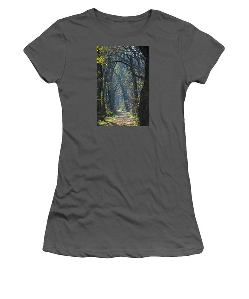 Into The Wood Women's T-Shirt (Athletic Fit)