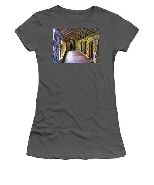 Arched Invitation Passageway Women's T-Shirt (Athletic Fit)