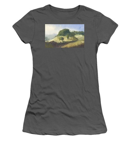 Inviting Path Women's T-Shirt (Athletic Fit)