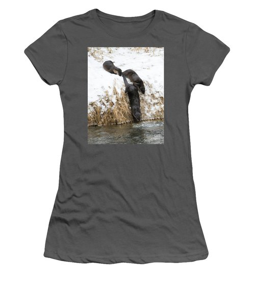 Is It Cold Women's T-Shirt (Athletic Fit)