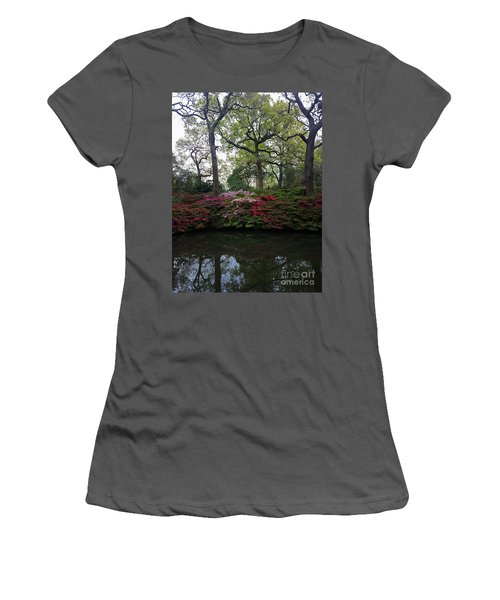 Women's T-Shirt (Junior Cut) featuring the photograph Isabella Plantation by Hanza Turgul