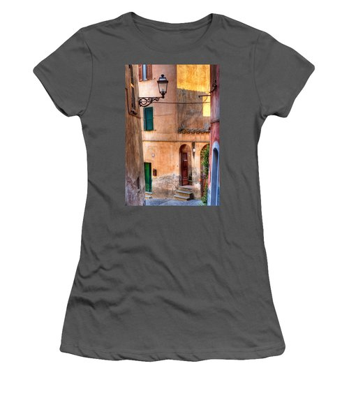 Italian Alley Women's T-Shirt (Athletic Fit)