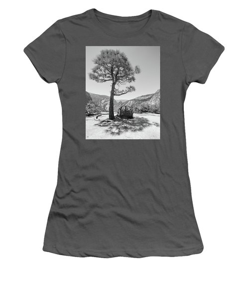 It's Between Them Women's T-Shirt (Junior Cut) by Ryan Weddle