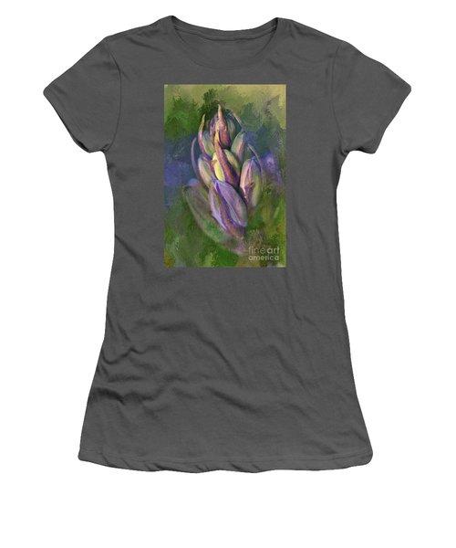 Itty Bitty Baby Bluebells Women's T-Shirt (Junior Cut) by Lois Bryan