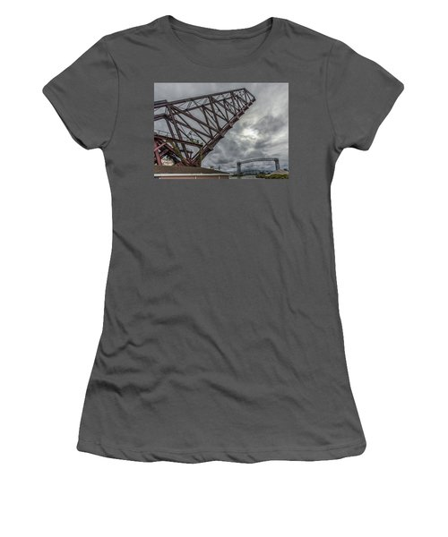 Jackknife Bridge To The Clouds Women's T-Shirt (Athletic Fit)