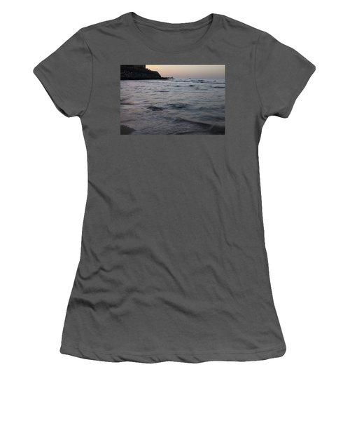 Jaffa Port Women's T-Shirt (Junior Cut) by Shlomo Zangilevitch
