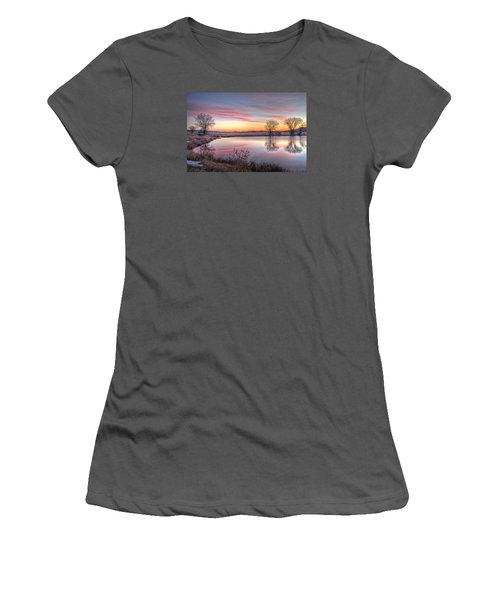 January Dawn Women's T-Shirt (Junior Cut) by Fiskr Larsen