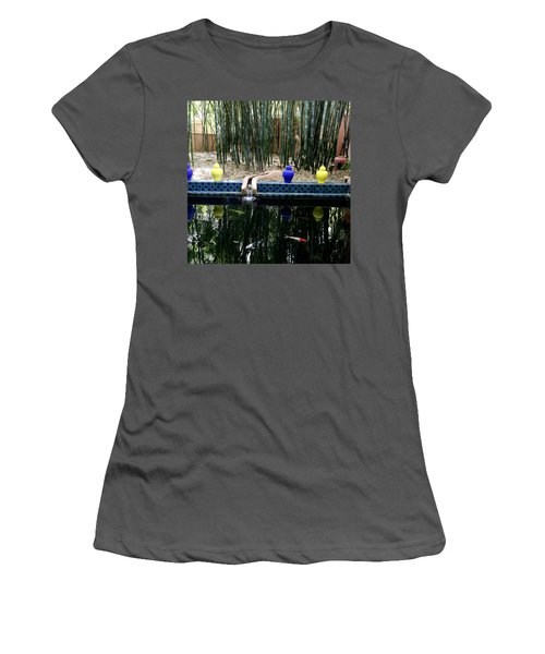 Women's T-Shirt (Junior Cut) featuring the photograph Jardin Majorelle by Andrew Fare