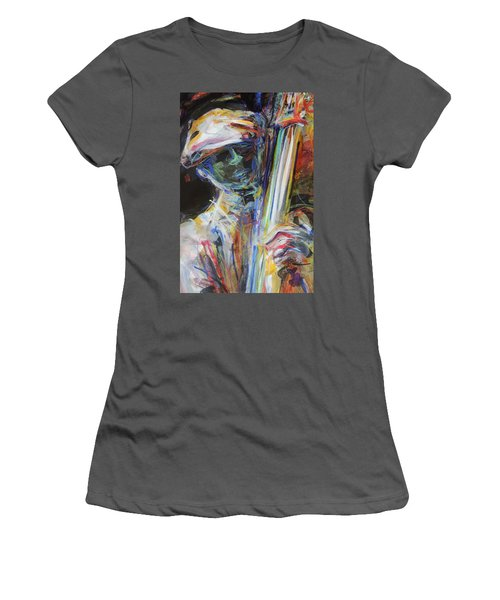Jazz Man Women's T-Shirt (Athletic Fit)