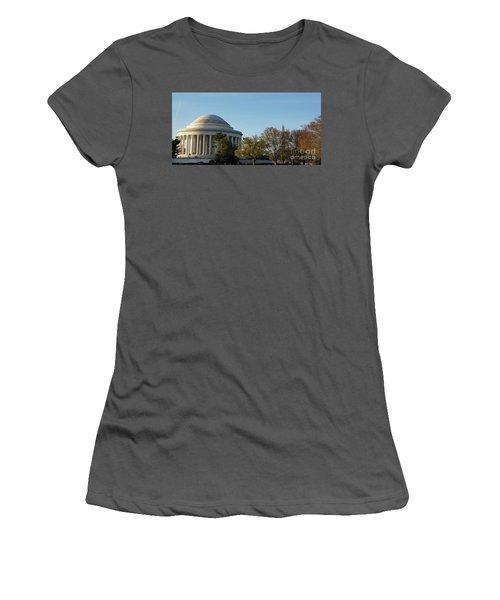Jefferson Memorial Women's T-Shirt (Athletic Fit)