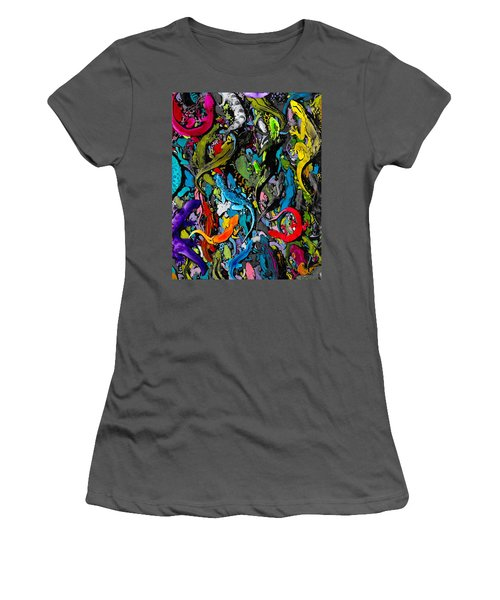 Jewels Of The Demon City Swarm Women's T-Shirt (Athletic Fit)