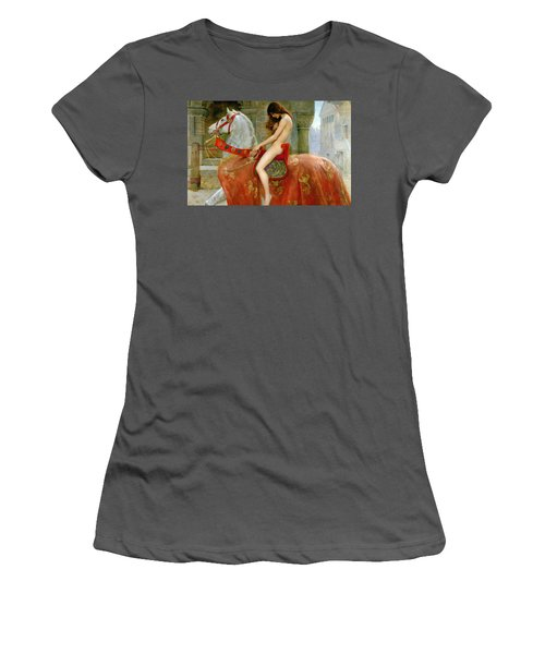 Lady Godiva Women's T-Shirt (Athletic Fit)