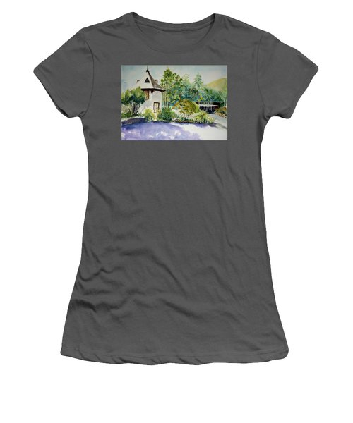 Jose Moya Del Pino Library At Marin Arts And Garden Center Women's T-Shirt (Athletic Fit)