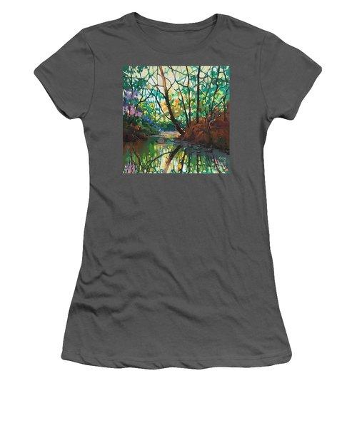 Joyful Morning Women's T-Shirt (Athletic Fit)