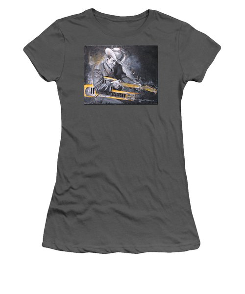 Jr. Brown Women's T-Shirt (Athletic Fit)