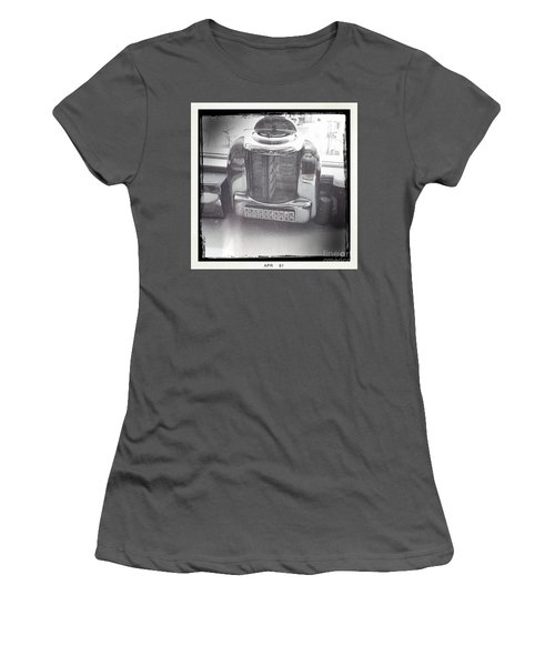 Women's T-Shirt (Junior Cut) featuring the photograph Juke Box by Nina Prommer