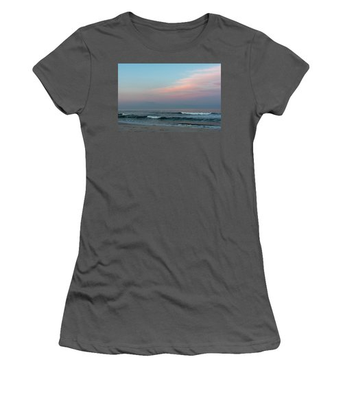 June Sky Seaside New Jersey Women's T-Shirt (Athletic Fit)
