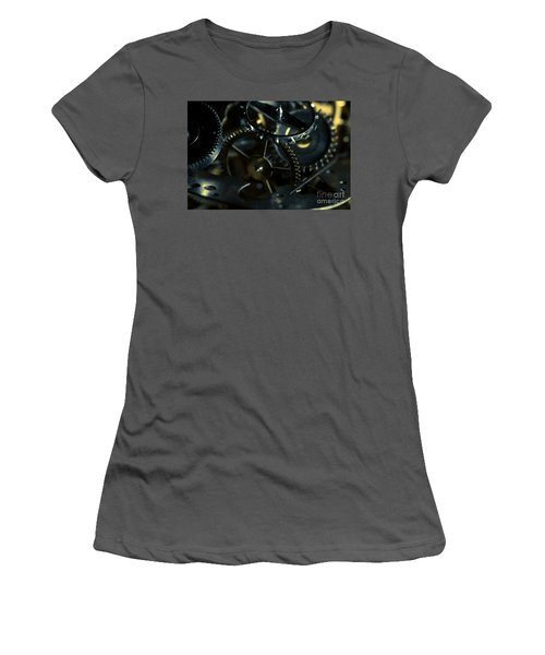 Just A Cog In The Machine 5 Women's T-Shirt (Athletic Fit)