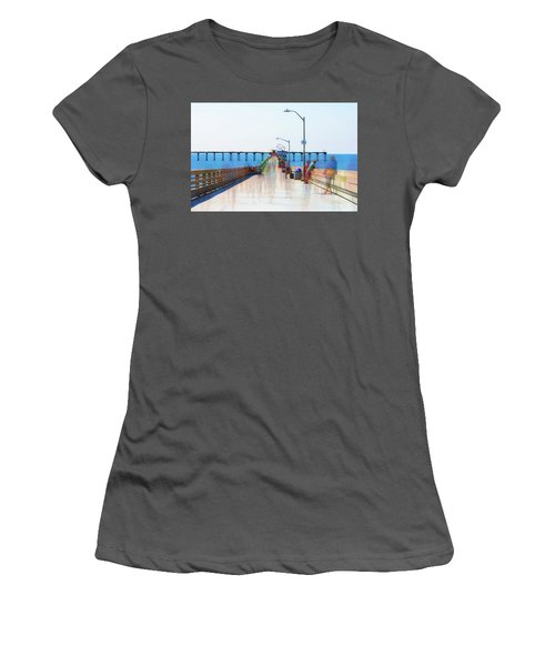 Just Hanging Out In The Summertime Women's T-Shirt (Athletic Fit)
