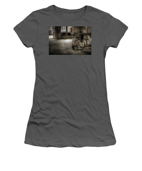 Just Walk Away Women's T-Shirt (Athletic Fit)