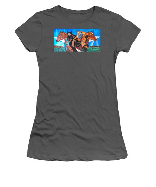Kaleden Spirit Horse Women's T-Shirt (Athletic Fit)
