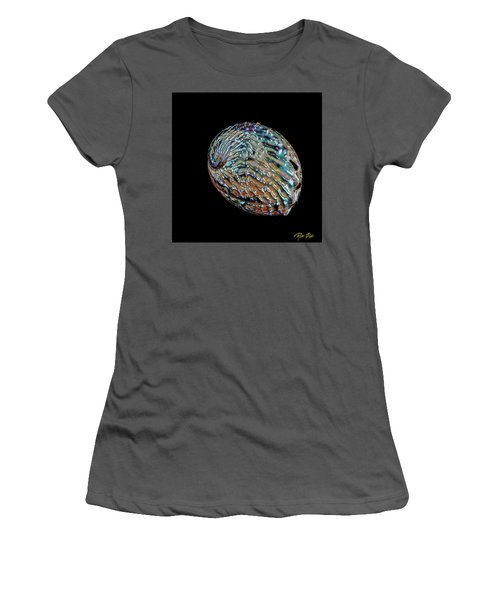 Women's T-Shirt (Athletic Fit) featuring the photograph Kaleidoscope Abalone by Rikk Flohr