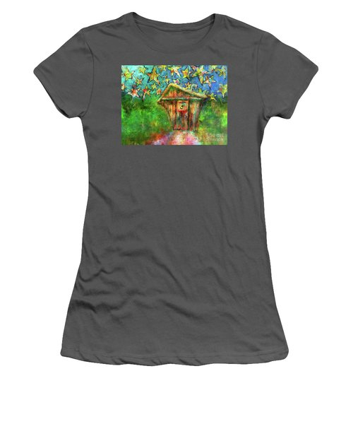Kaleidoscope Skies Women's T-Shirt (Athletic Fit)