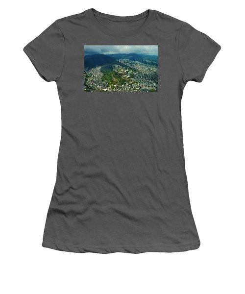 Kamehameha School Kapalama Women's T-Shirt (Junior Cut) by Craig Wood