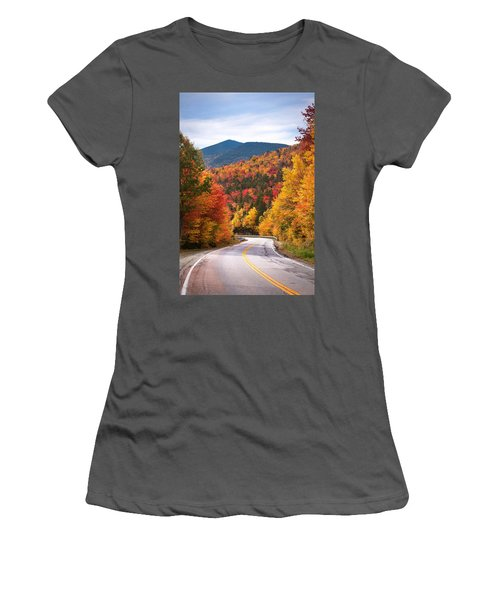 Kancamagus Highway Women's T-Shirt (Athletic Fit)