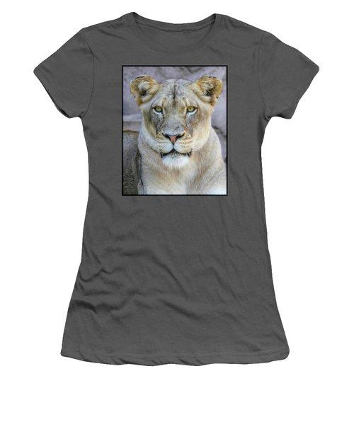 Kaya Portrait Women's T-Shirt (Athletic Fit)