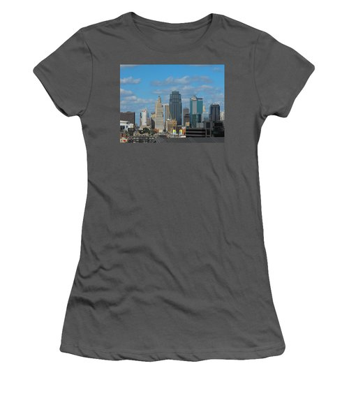 Kc Is Booming Women's T-Shirt (Athletic Fit)