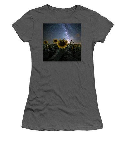 Women's T-Shirt (Athletic Fit) featuring the photograph Keep Your Head Up by Aaron J Groen