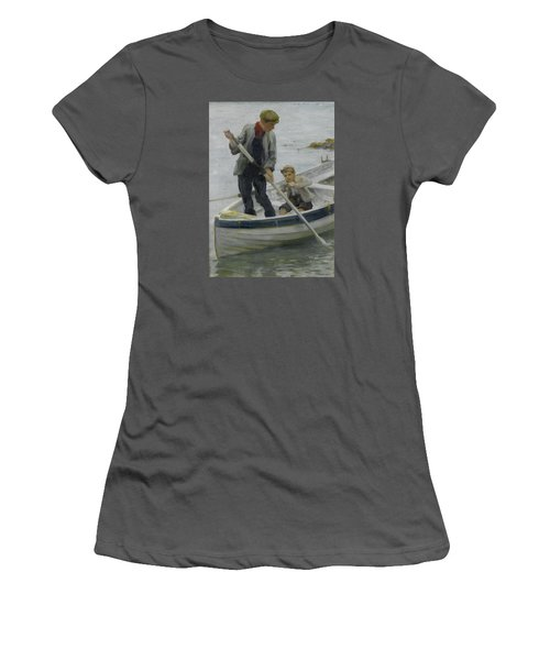 Keeping Her Off Women's T-Shirt (Athletic Fit)